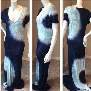Young Fabulous & broke. Maxi tie dye dress